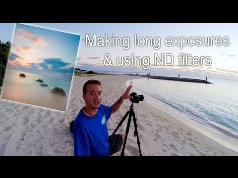 Shooting long exposures and ND filters Pete