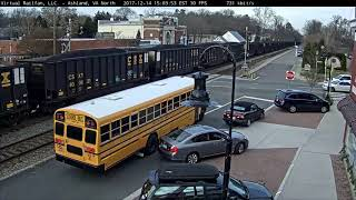 Hit & Run with School Bus (Bump & Go!)