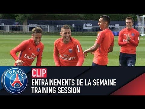 TRAINING SESSION -  ENTRAINEMENTS DE LA SEMAINE with Neymar Jr & Marco Verratti