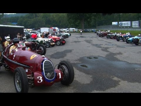 Vintage Cars Race at Lime Rock Park 2011