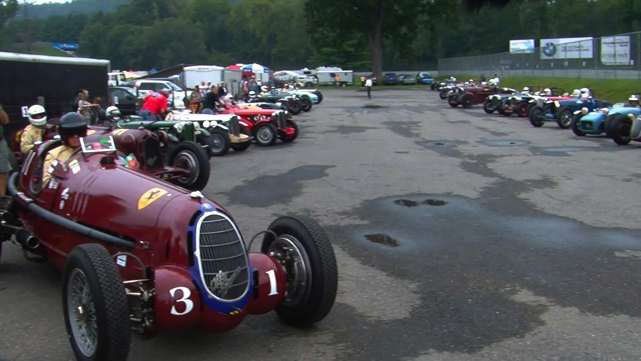 Vintage Cars Race At Lime Rock Park Youtube