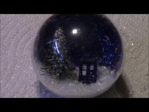DIY Waterless Snow Globe Ornament