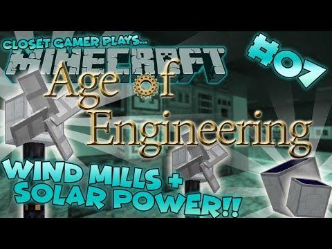 Age of Engineering #07 | Windmills & Solar Energy! | Closet Gamer