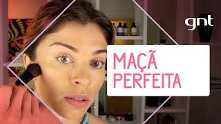 Como deixar as maçãs do rosto perfeitas | Dicas da Grazi