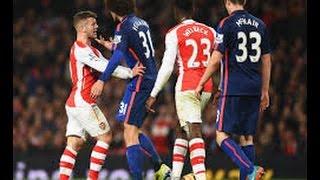 arsenal vs manchester united 3 0 10 04 2015