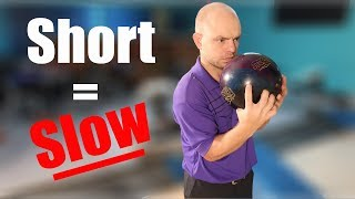 How to Decrease Bowling Ball Speed