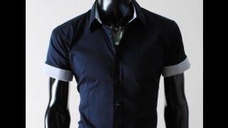 видео 5 выкроек мужской рубашки: длинные и короткие рукава