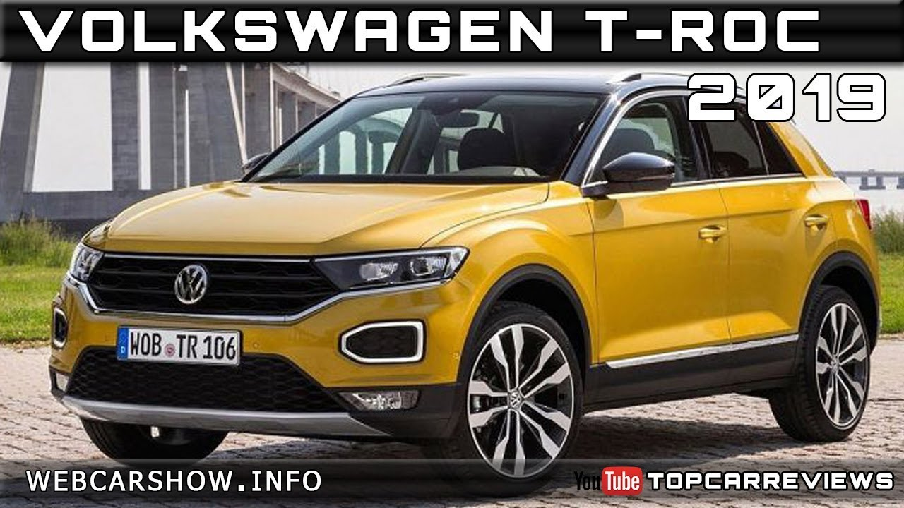 2019 volkswagen t roc review rendered price specs release date youtube. Black Bedroom Furniture Sets. Home Design Ideas