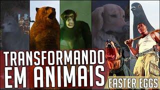 GTA V NOVA GERAÇÃO - EASTER EGGS: Localização de 10 peyote - TRANSFORMANDO EM ANIMAIS