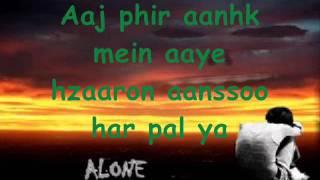Nusrat Fateh Ali Khan Meno yaadan terian andian ne