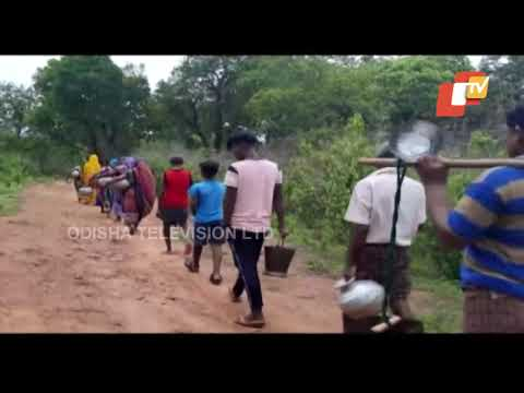 Potable Water, Electricity Still A distant Dream At This Ganjam Village