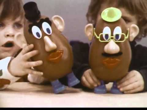 Hasbro - Playskool - Mr Potato Head - My Potato - Vintage ... Vintage Hasbro Toys