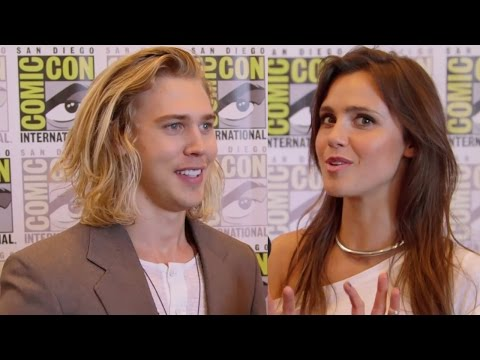 23 Things We Learned About The Shannara Chronicles Comic Con 2015 - Austin Butlers Man Bun