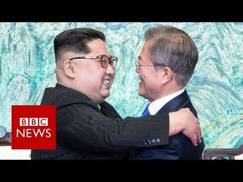 Koreas: A day of historic talks  – BBC News