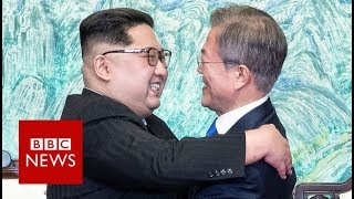 The leaders of North and South Korea have agreed to work to rid the...
