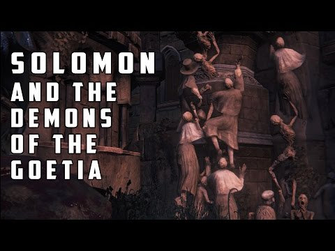 Solomon and the Demons of the Goetia