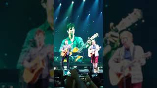 Shawn mendes and Ed Sheeran Brooklyn illuminate Tour 2017