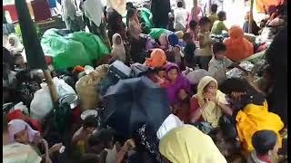 Campo profughi dei Rohingya a Cox's Bazar in Bangladesh