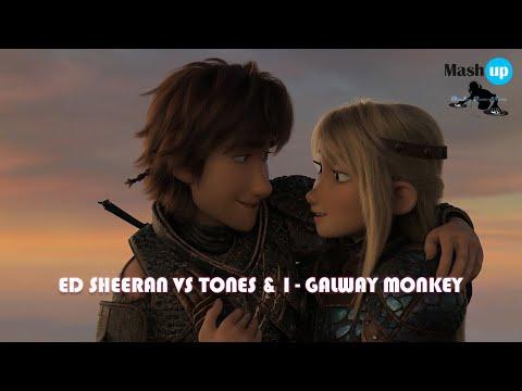 ED SHEERAN VS TONES & I - GALWAY MONKEY - PAOLO MONTI MASHUP 2020