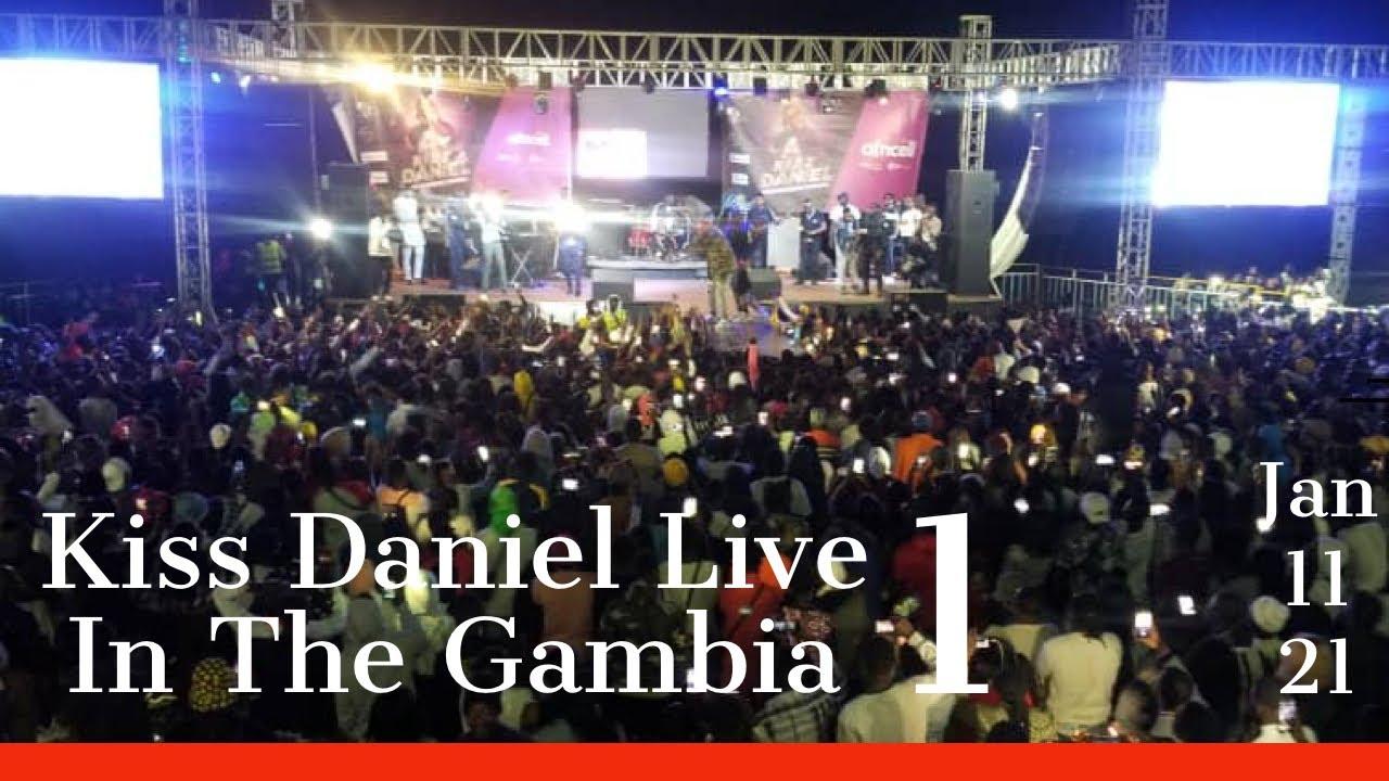 Download KIZZ DANIEL LIVE IN THE GAMBIA PART 1 HD(4K)