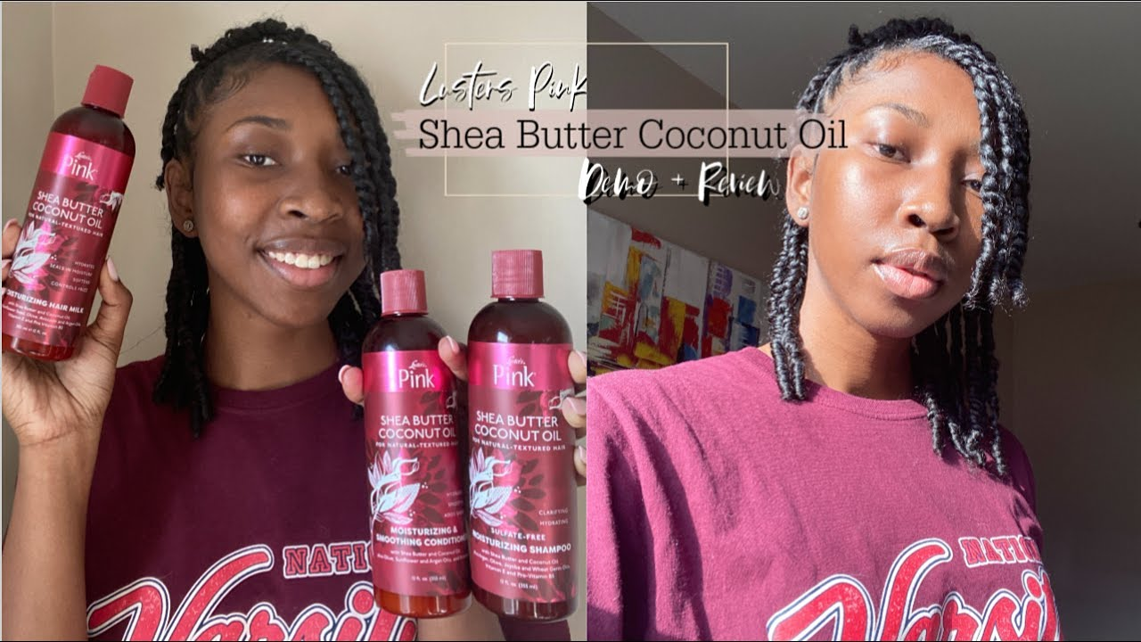 Lusters Pink Shea Butter Coconut Oil Review