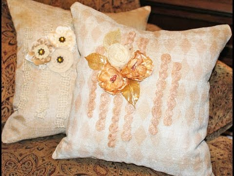 Mixed Media Pillow Decor with Delaina Burns on Live with Pri