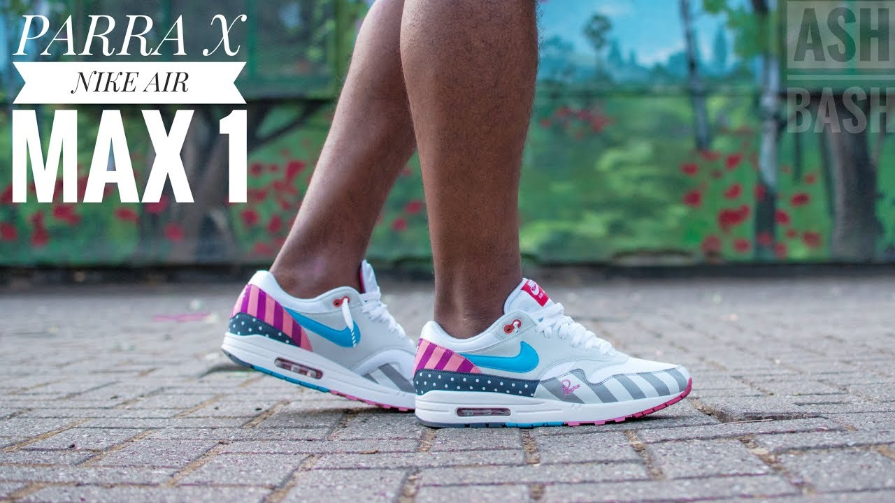 57083aff58 Review & On-Feet | Parra x Nike Air Max 1