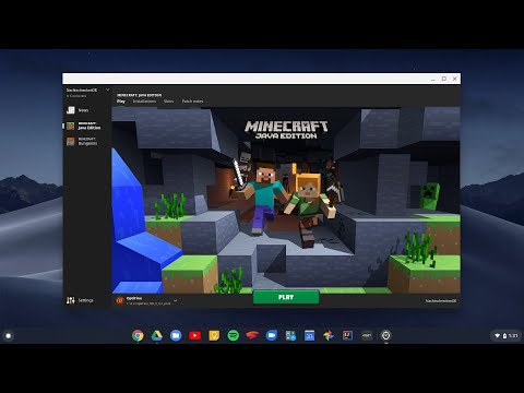 How To Install Games On Chromebook [World Of Warcraft / Minecraft Etc]