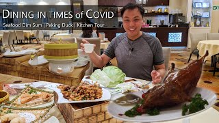 Dining in Times of Covid - Seafood Dim Sum Feast | Peking Duck | Kitchen Tour