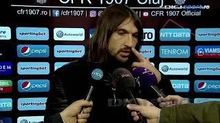 Declaraţie Dan Alexa după CFR Cluj 0 - 0 Dunărea Călăraşi