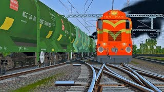 Petrol Wagons Freight Train Duty in MSTS Open Rails || Indian Train Simulator