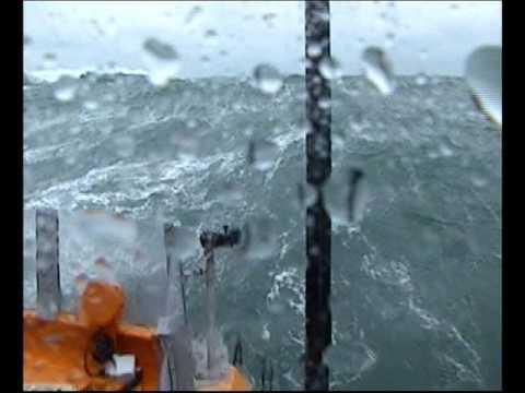 Eyemouth Lifeboat Crew On Rough Weather Training Exercise