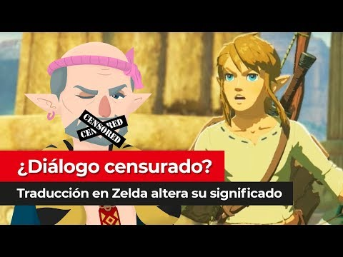 ¿Diálogo censurado? | The Legend of Zelda Breath of the Wild