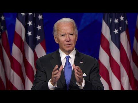 Joe Biden speech: Watch full speech as he officially accepts presidential nomination at DNC   ABC7