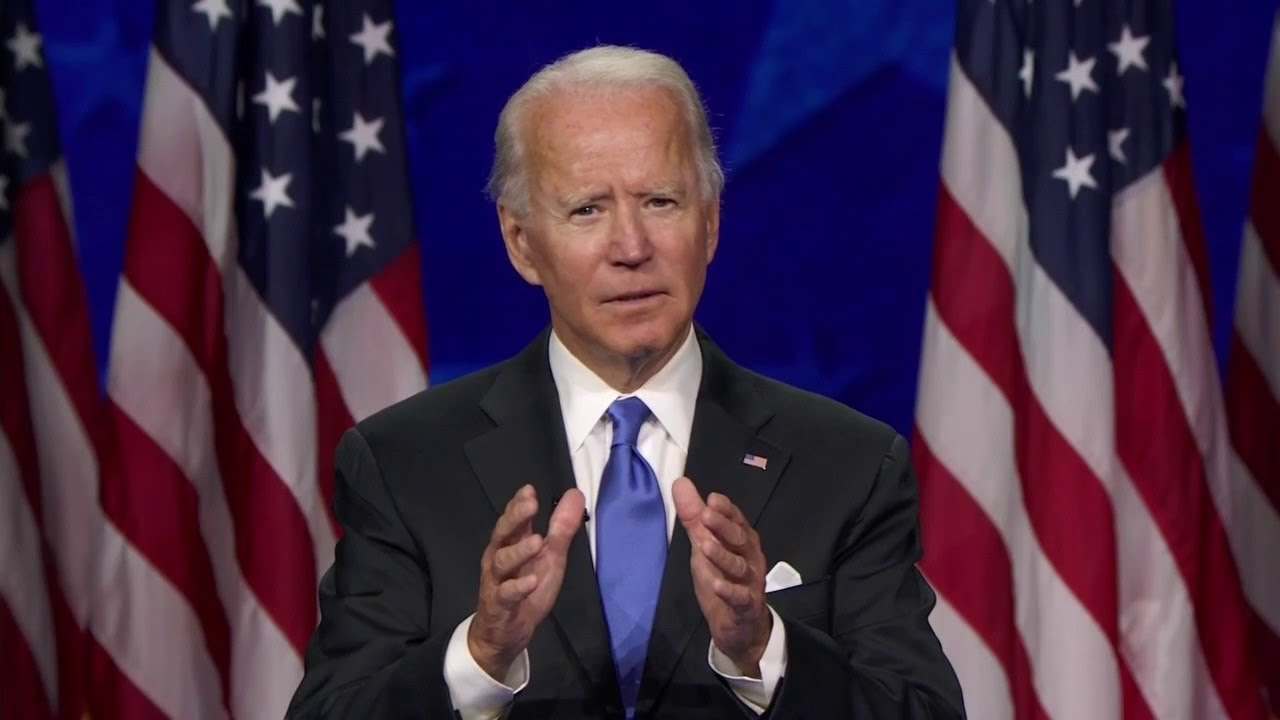 """ICYMI: Here's Joe Biden's Convention Acceptance Speech --  """"Time to Make Hope and History Rhyme"""""""