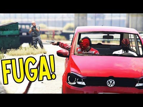 FUGA! BOLANDO O SEQUESTRO DO PAI DA MARIA - GTA V: NOVELA DA VIDA REAL EP#57