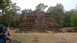 アンコールトム遺跡観光 ピミアナカス カンボジアの世界遺産