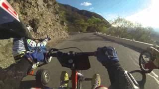 Drift Trike En El La Cuesta Del Portezuelo