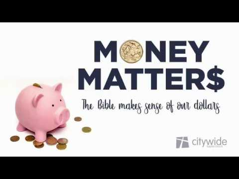 01 - Why money matters