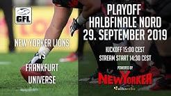 New Yorker Lions vs. Frankfurt Universe