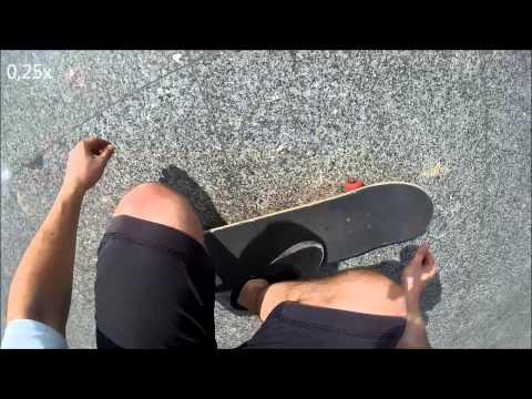 Sjcam sj4000 wifi Slow Motion test 360 Flip on a Skateboard