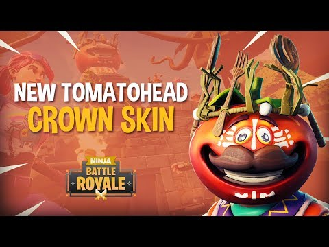 *NEW* Tomatohead Crown Skin!! - Fortnite Battle Royale Gameplay - Ninja