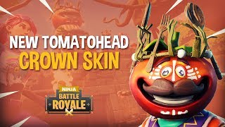 *NEW* Tomatohead Crown Skin!! - Fortnite Battle Royale Gameplay - Ninja