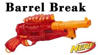 Nerf Barrel Break Sonic Fire [deutsch/german]