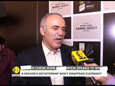 Exclusive:  Garry Kasporav, Former Chess world champion speaks to WION