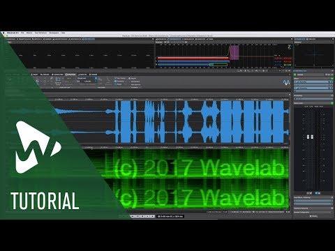 New Spectrum Editor | New Features in WaveLab Pro 9.5