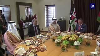 جلالة الملك يدعو إلى زيادة حجم الاستثمارات الإماراتية في المملكة - (13-3-2018)