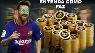 ENSINANDO A FAZER TRADE, LUCRE BEM DE FORMA SIMPLES - FIFA 2020 MOBILE