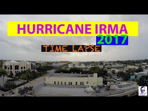 Hurricane Irma Time Lapse - Lake Worth, Florida 2017