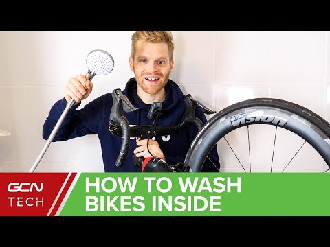 How To Wash A Road Bike When You Live In A Flat Or Apartment